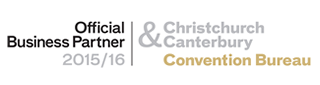 Official Business Partner - Christchurch Canterbury Convention Bureau