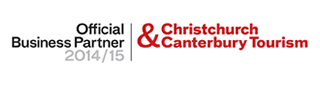 Official Business Partner - Christchurch Canterbury Tourism