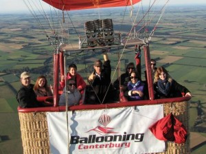 Ballooning at a Famil in Canterbury