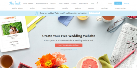 The Knot Wedding Websites.Rapid Review Free Wedding Websites Collective Concepts