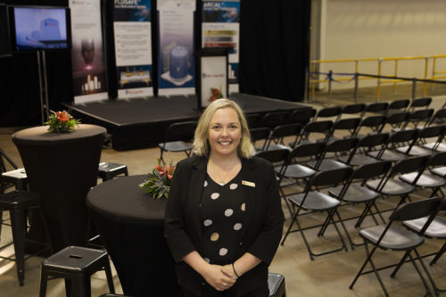 Kate Blundell - Air Liquide Christchurch Filling Facility Opening 2018