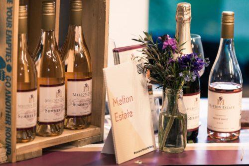 Melton Estate wine selection at Taste North Canberbury