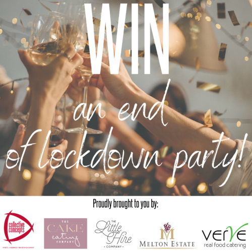 WIN an end of lockdown party