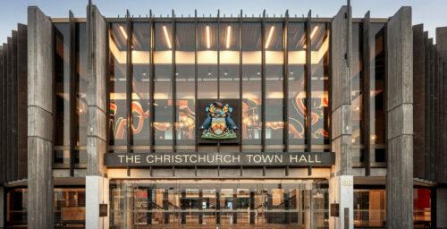 Christchurch Event Venues - Christchurch Town Hall.