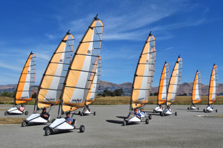 Velocity Karts Blokart Land Yachts